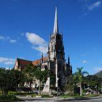 A Catedral de Petrópolis e a cegonha