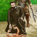 O caranguejo e São Francisco Xavier