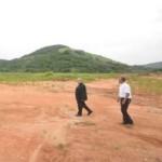 Bênção marca início das obras em Guaratiba