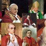 O mundo dos santos e dos papas