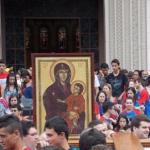 Símbolos da JMJ são acolhidos em Minas Gerais