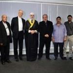 Representantes muçulmanos que participarão da JMJ visitam o COL