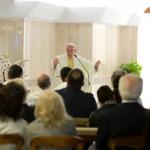 Papa define pecadores, santos e corruptos
