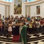 Sacramento do Matrimônio com evangelização da família.