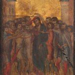 tela Cristo Menosprezado de Cenni di Pepo
