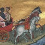 A carruagem